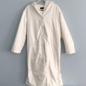 FENDI White Trench Puffer Coat